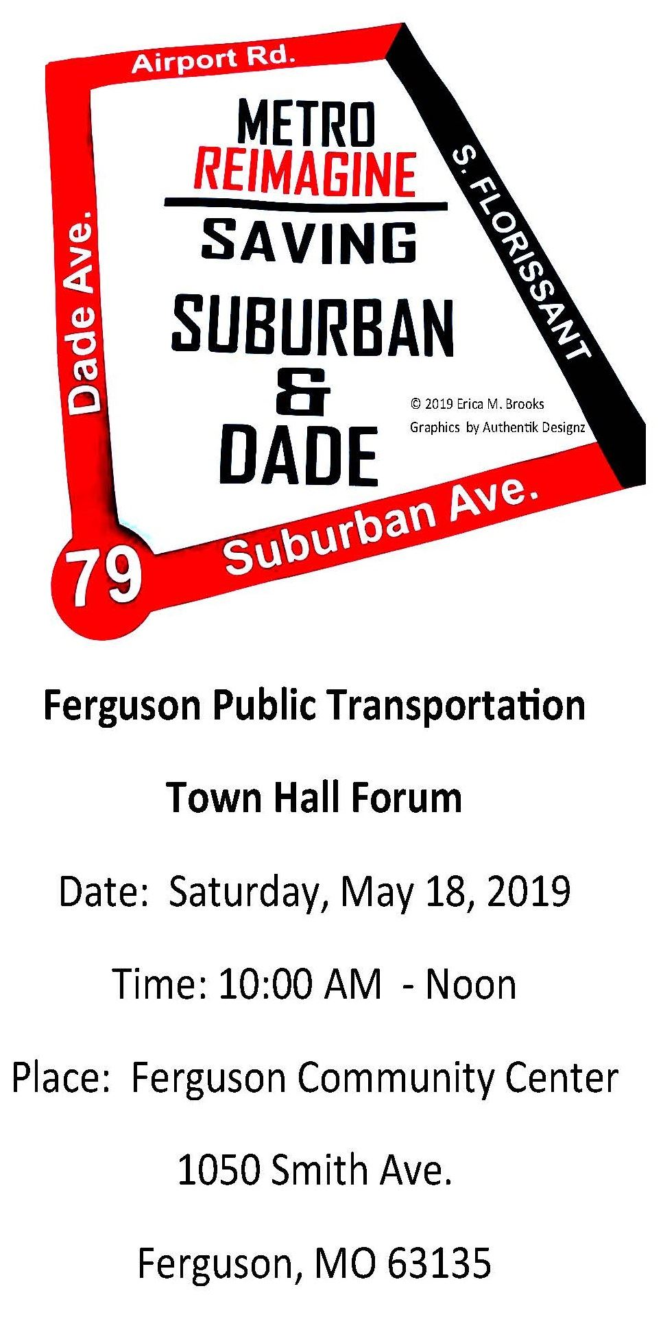V2 Saving Suburban and dade creation by erica m brooks designed by George Spann Created4-6-19  flyer